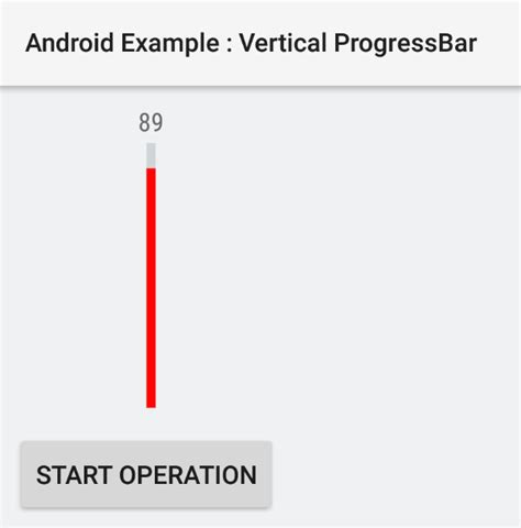 tutorial android progress bar how to create a vertical progressbar in android