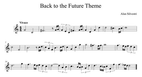 Theme Music Back To The Future | back to the future theme expressivo