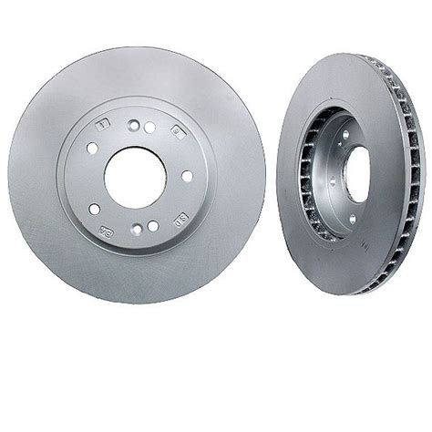 hyundai rotors front disc brake rotors hyundai santa fe 01 06 pair ebay