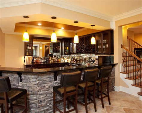houzz basement ideas bar home design ideas pictures remodel and decor