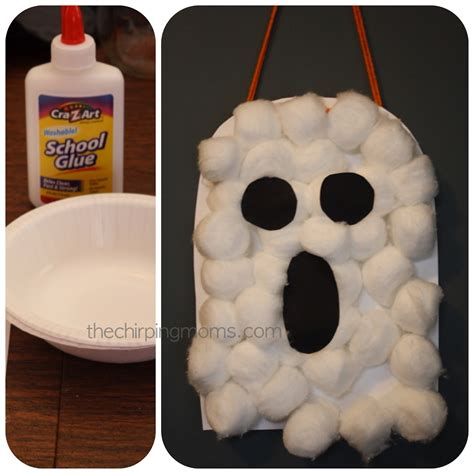Halloween Ghost Crafts For Kids - halloween projects for the kids the chirping moms
