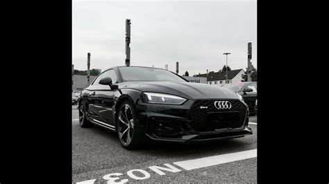 Audi Rs5 Schwarz by Black Audi Rs5 Coupe 2017 Youtube