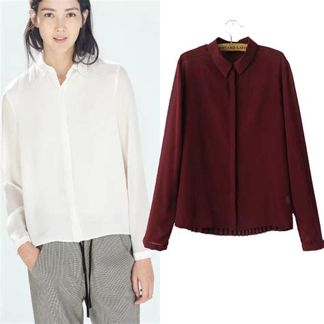 Blouse Maroon burgundy blouse womens trendy clothes