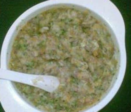 cara membuat nasi tim yang sehat dan bergizi resep mpasi bayi tim hati ayam bayam yang enak sehat dan
