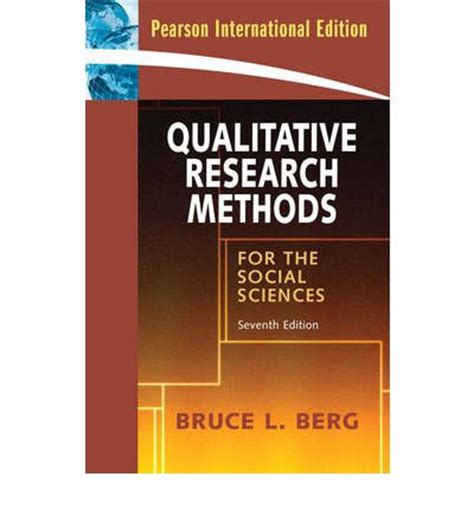 research methods for the behavioral sciences qualitative research methods for the social sciences