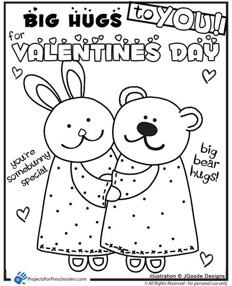 free printable valentines day coloring pages coloring home