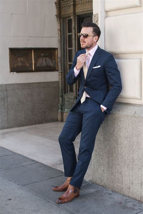 if i wear a navy suit brown shoes light blue shirt and a pinterest the world s catalog of ideas