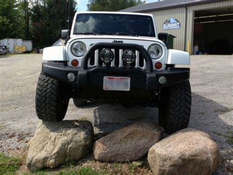 2012 Jeep Wrangler Unlimited Front Bumper Find Used 2012 Jeep Wrangler Unlimited Altitude
