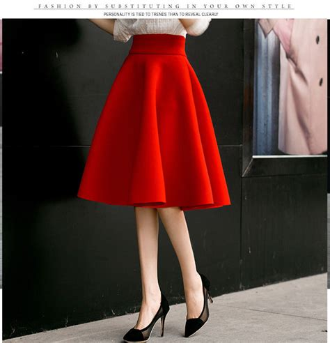 Big Skirt new arrival high waist big skirt knee length gown umbrella skirt fashion