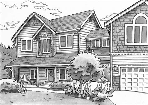 House Layout Ideas Landscape Drawing In Pencil Important Tools To Create