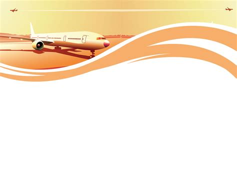 airline powerpoint templates airline powerpoint templates car transportation free