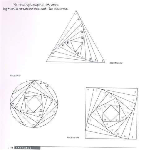 Iris Folding Papers - 25 best ideas about iris folding templates on