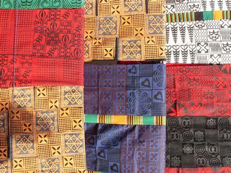 panoramio photo of adinkra cloth in ntonso