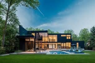 home exterior design toronto modern home in oakville ontario modern exterior