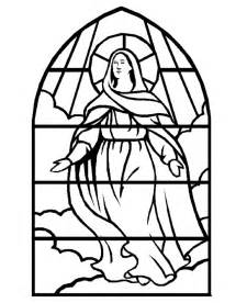 stained glass coloring pages stained glass coloring page az coloring pages