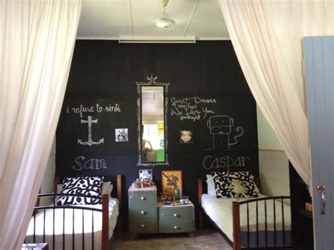 chalk wall in bedroom 15 whismiscal kid s bedroom designs with a chalkboard wall rilane