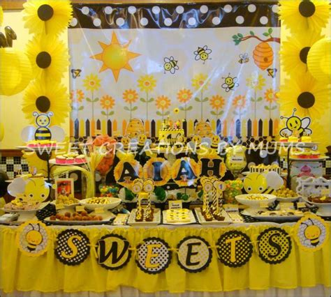 Bumble Bee Birthday Party Ideas Photo 4 Of 4 Catch My Bumble Bee Ideas