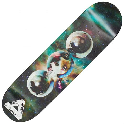 palace deck palace skateboards chewy cannon spheres pro skateboard