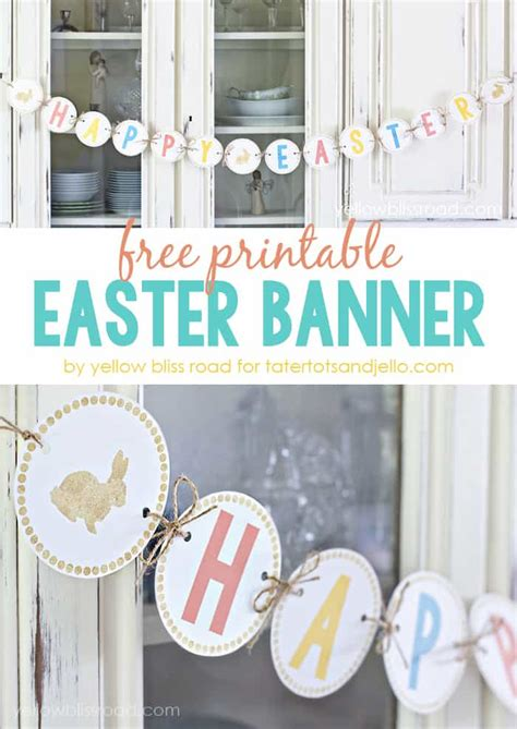 printable easter banner the ultimate guide to easter printables