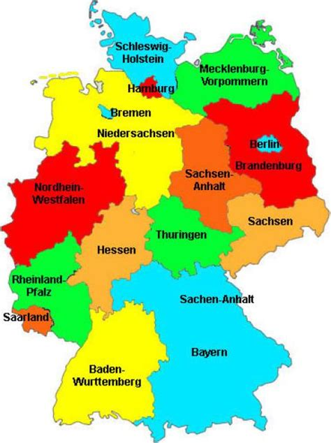 germany map political political left right and purely satirical portside