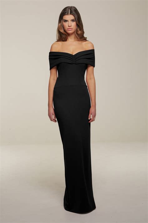 Mila Black Maxi Dress