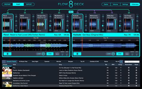 Software Mix Mixer Musik Mixed In Key 7 flow 8 deck official website new dj software from mixed in key