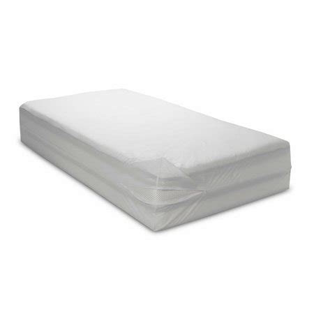 water resistant washable  bed bug blocker zippered mattress cover protector walmartcom