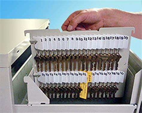 Key Holder: Hanging File Cabinet Key Rack   Made in USA