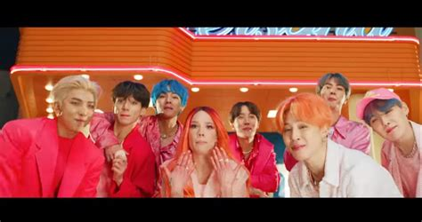 bts release boy  luv video featuring halsey