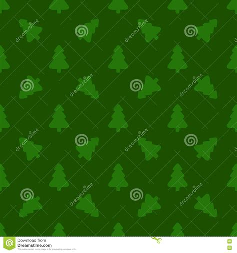 pattern for wrapping paper christmas tree on a green