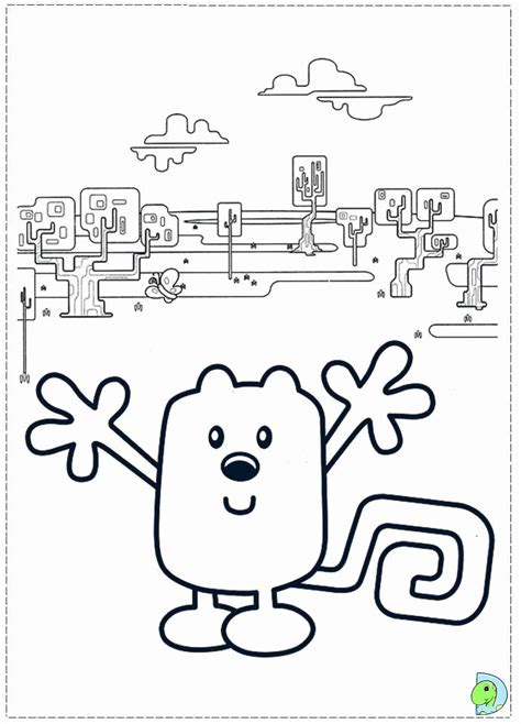wow wow wow wubbzy coloring home