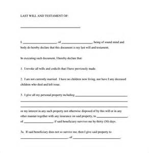 Holly Valance Married Last Will And Testament Forms 8 Download Free Documents