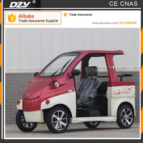 wheelchair smart car smart roadster electric spongebob car for wheelchair user