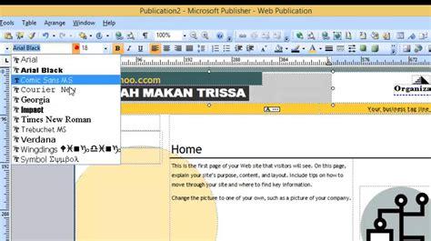 membuat web dengan xml membuat web dengan microsoft publisher youtube