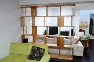 custom living room furniture shelving room divider ideas