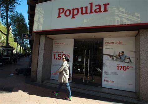 banco popular valencia as 237 ven los analistas al banco popular valencia plaza