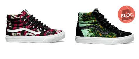Vans Sk8hi Slim Dela Batik vans x della images sneakers magazine