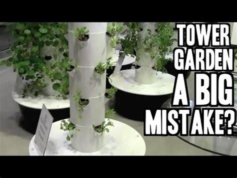 buying  tower garden    big mistake youtube