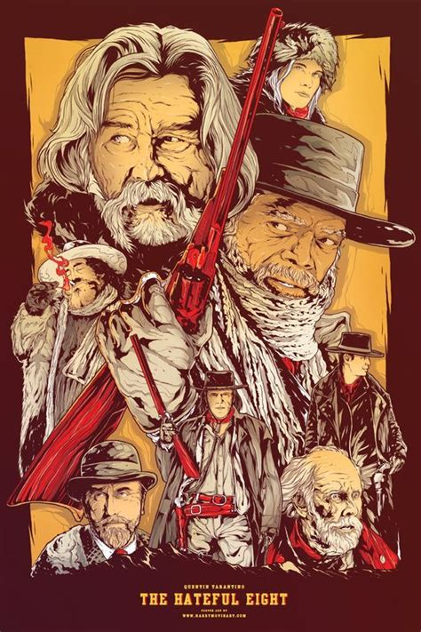 Plakat Quentin Tarantino by Quentin Tarantino Poster The Hateful Eight