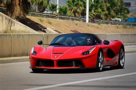 Open top LaFerrari spotted in the wild, Aperta name confirmed