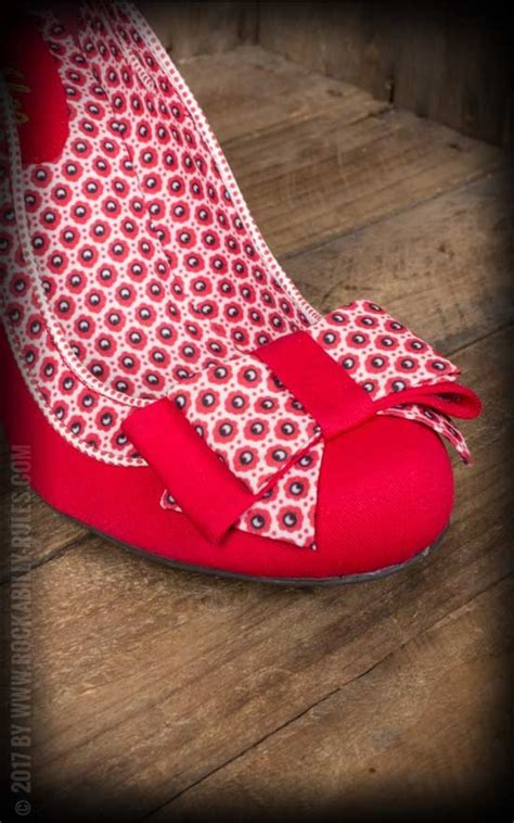 Shoo Nr ruby shoo pin up pumps quot quot rot rockabilly