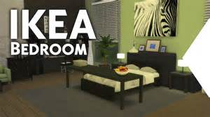 The Sims 4 Building Ikea Inspired Bedroom Youtube