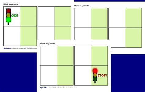 Blank Loop Cards Template by Editable Blank Loop Follow On Cards Free Teaching