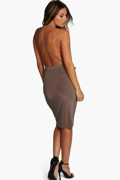 Boohoo Gift Card - boohoo womens evie wrap detail plunge slinky midi dress