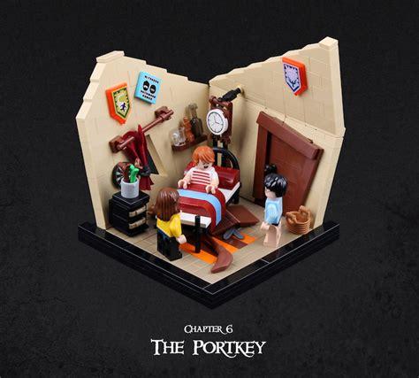 il recr 233 harry potter et la coupe de avec des lego