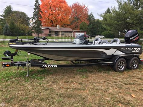 nitro bass boats gear 2014 nitro z8 bass boat detail classifieds