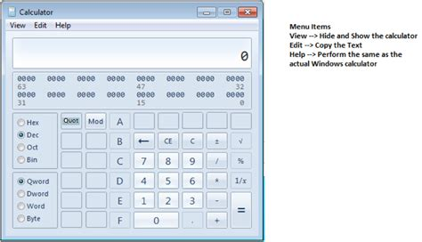 calculator program in java using swing implement a programming calculator as below the p