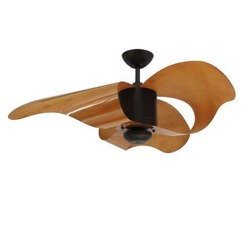 troposair la ceiling fan with modern wave shaped blades