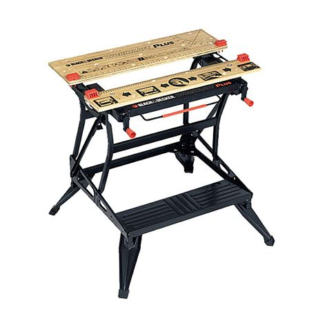benchmark portable work bench black decker wm825 workmate deluxe portable work bench