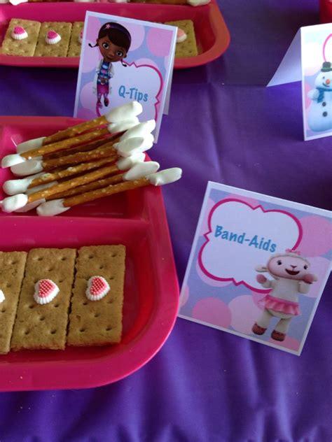 imagenes de juguetes originales doc mcstuffins birthday party snacks birthdays doc